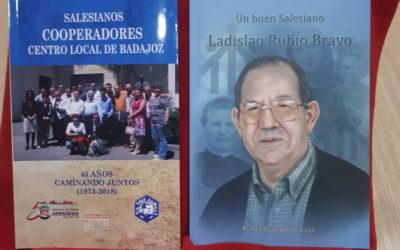 PRESENTACIÓN DE DOS LIBROS SALESIANOS EN BADAJOZ