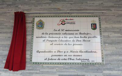 CLAUSURA DEL CINCUENTENARIO EN BADAJOZ