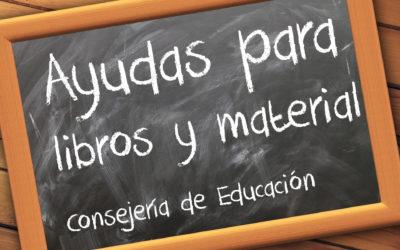 BECA AYUDA DE MATERIAL INFANTIL Y LIBROS PRIMARIA Y ESO 20-21