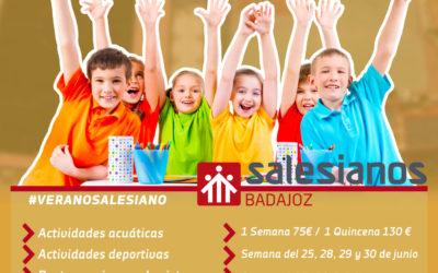 Campamentos de verano en Salesianos Badajoz