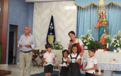 CELEBRACIÓN DE ACCIÓN DE GRACIAS COMO FINAL DE CURSO EN EDUCACIÓN INFANTIL