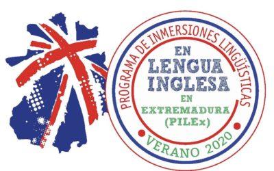 Inmersiones lingüísticas en lengua inglesa verano 2020