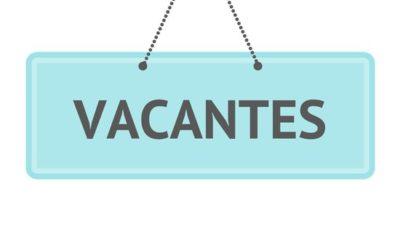 Listado de Vacantes Proceso General de Admisión 20-21