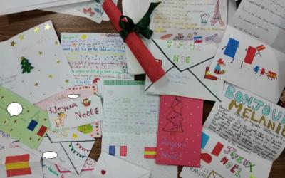 Intercambio de cartas con alumnos franceses